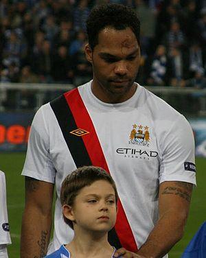 Joleon Lescott - Lescott lining up for Manchester City in 2010