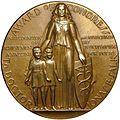 Jonas Salk Congressional Gold Medal (reverse).jpg