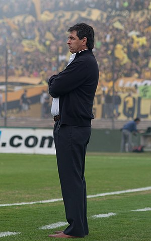 Jorge Orosmán da Silva - Da Silva as manager of Peñarol in 2012