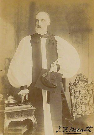 Joseph Peacocke (archbishop of Dublin) - Signed photograph of J.F. Peacocke as Bishop of Meath