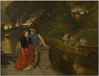 Joseph Lies - Lovers in the park.jpg