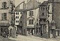 Joseph Mégard - Le passage de la Monnaie au milieu du XIXe siècle.jpg