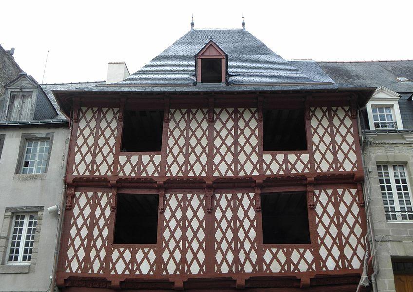 Maison classée sise 21 rue Olivier de Clisson à Josselin (56).