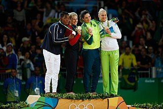 Judo at the 2016 Summer Olympics – Women's 78 kg - Medalists