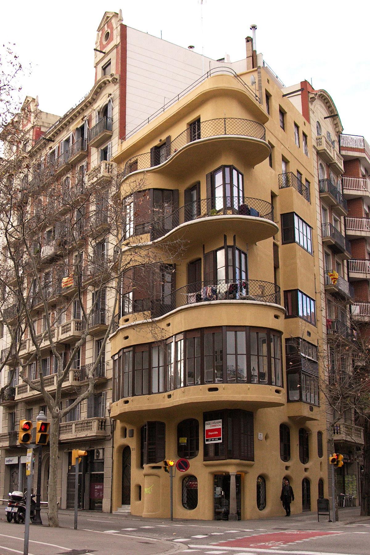 Casa planells viquip dia l 39 enciclop dia lliure - Natura casa barcelona ...