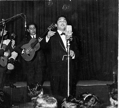 Julio Jaramillo is an icon of the old Bolero music genre. Julio jaramillo laurido2.jpg