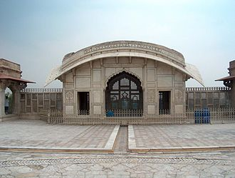 Bengal Subah - Bengali curved roofs were copied by Mughal architects in other parts of the empire, such as in the Naulakha Pavilion in Lahore