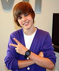 Vad är det för tecken Bieber gör egentligen?