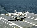 KA-6D of VA-95 landing on USS Abraham Lincoln (CVN-72) 1990.JPEG