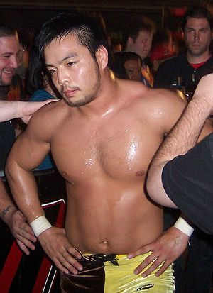 Hideo Itami - Kenta at an ROH event, September 2008