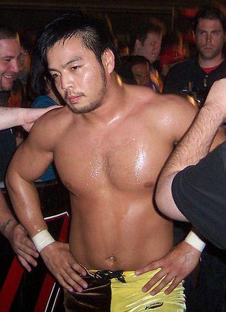 Hideo Itami - Kenta at an ROH event, September 2008