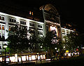 KaDeWe (Kaufhaus des Westens, Berlin) by night 2006-08-23.jpg