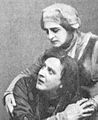 Kachalov and Knipper in Hamlet 1911 detail.jpg