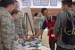 Kadena High School military job fair 130404-F-VI447-076.jpg
