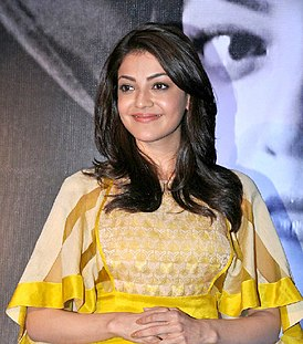 Kajal Aggarwal launches her own app (cropped).jpg