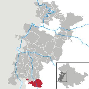 Kaltennordheim - Image: Kaltennordheim in WAK