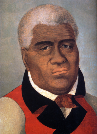 Kamehameha I - Portrait of King Kamehameha The Great