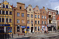 Kamienice w Rynku u zbiegu ulic-z lewej ul. Pańskiej, z prawej- ul. Kościelnej.jpg