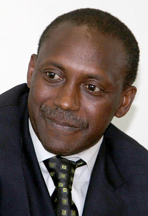 Kandeh K. Yumkella, UNIDO Director-General, in...