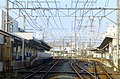 Kanegafuchi station - platforms - march16-2014.jpg