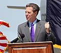 Kansas Governor Sam Brownback makes remarks at a ground breaking ceremony at McConnell Air Force Base (cropped).jpg