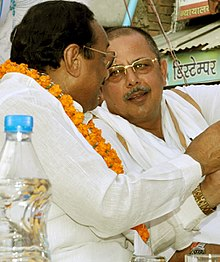 Kantilal Bhuria and Ajay Singh in 2013.jpg