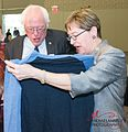 Kaptur with Senator Bernie Sanders at City Club in Cleveland (34372499522).jpg