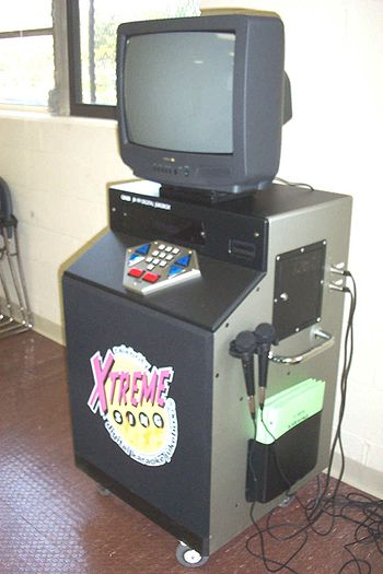 Early karaoke machine
