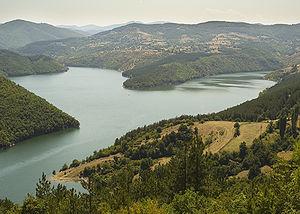 Kardzhali Reservoir - Image: Kardzhalidam