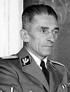 Karl Hermann Frank Czechoslovak member of Czechoslovak national parliament and Nazi Germany politician