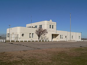 Norfolk, Nebraska - Former terminal building, Karl Stefan Airport