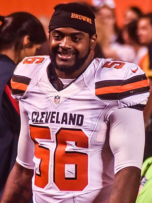 Karlos Dansby - Dansby with the Browns in 2015.