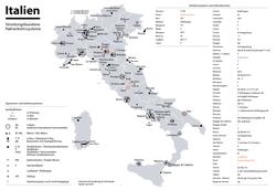 ankona italija mapa Saobraćaj u Italiji   Wikipedia ankona italija mapa