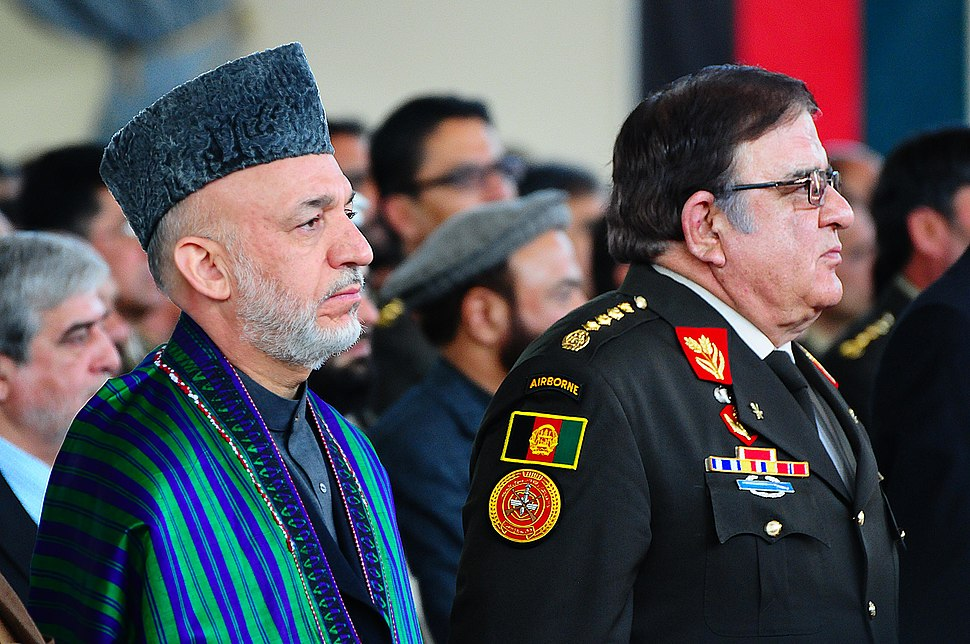 Karzai and Wardak in 2011