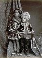 Kashmiri children in churidar 1890.jpg