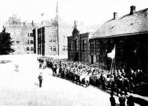 Katedralskolan, Lund - The Cathedral School in 1912.