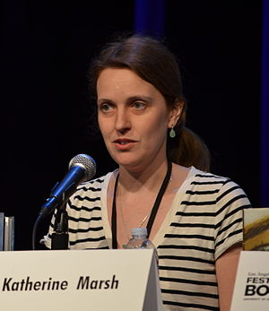 Katherine Marsh - Katherine Marsh on April 21, 2013