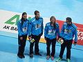 Kazan 2015 - Germany wins bronze mixed medley relay.JPG