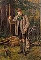 Kazimierz Pochwalski - Kaiser Franz Josef mit Jagdtrophäe.jpg