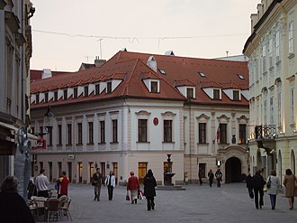 Keglevich Palace - Keglevich Palace - View from Venturian Street