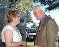 Kelli Germeraad and Congressman George Miller (5013187916).jpg