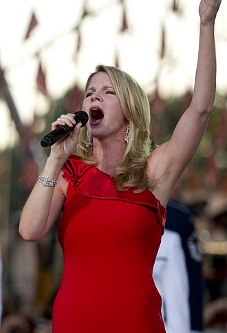 Kelli O'Hara - O'Hara performing at the National Memorial Day Concert in May 2010