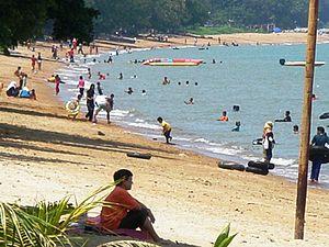 Masjid Tanah - Image: Kemunting Beach