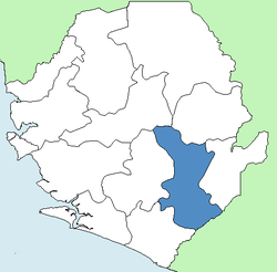 Kenema District Sierra Leone locator.png