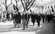 Kennedy family in JFK funeral procession-crop