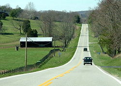 Kentucky Route 80 in Pulaski County