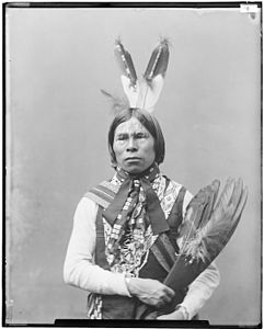 Kickapoo, Babe Shkit, Chief and Delegate from Oklahoma - NARA - 523854.jpg
