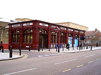 Stanley Heaps - Kilburn Park Underground station