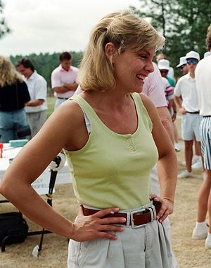 Kim Zimmer - Kim Zimmer at the 1994 Fayetteville Dogwood Festival
