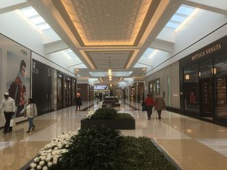 King of Prussia (mall) - The expansion corridor of the King of Prussia Mall, which opened in August 2016 connecting The Court and The Plaza